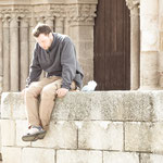 Resting pilgrim