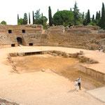 Former Roman amphitheater, Mérida