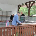 Aufbau der Käfige