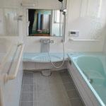 高齢で介護保険を使っての浴室・脱衣場リフォーム工事