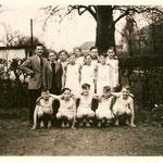 1952: Jungenturngruppe