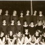 60er Jahre - Mädchenturngruppe