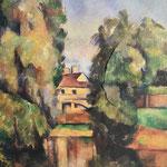 Paul Cezanne und Matti: Landhaus am Wasser