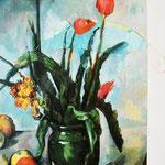 Paul Cezanne und Maya: