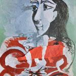 Pablo Picasso und Kaan: Jacqueline