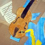 Eric und Davyd:Musik In Blau