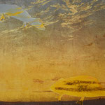 Caspar David Friedrich und Moritz: Wolken am Abend