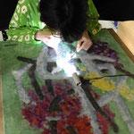 絵画修復教室-美的修復 gesso成形 (集中講座)
