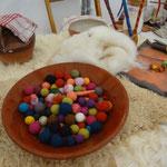 Feutrage de laine