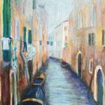 Spaziergang durch Venedig 6, 2016, 30 x 40 cm, Acryl auf Papier