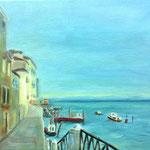 Fondamenta Nueve Venedig 8, 2014, 24 x 30 cm, Acryl auf Leinwand