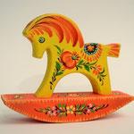 Іграшка коник-гойдалка. р . 13х12х4 см. ціна 220 грн.