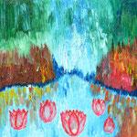Grotte aux lotus