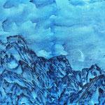 Les crêtes bleues