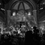 Konzert von Shai Tsabari - Middle East Groove - in der Synagoge.