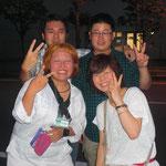 本番終了後。外池さん堀田さんくりさんまいこさん