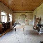 Der Saal ist zwar noch Werkstatt...