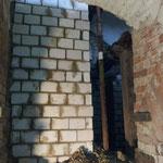 Marode Kellerwände neu aufmauern...