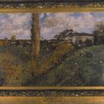 Tableau d'Auguste DURST dans un musée de Saumur