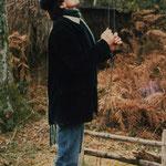 Jacky Gaye, paloumayre au Bois du Hayas.