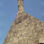 Statue de saint Seurin en haut du clocher
