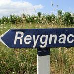 Vieux panneau repeint de Reygnac