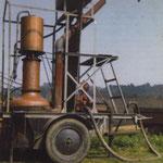 L'alambic à plateaux (type armagnacais) de Joseph et André Martin