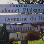 Panneaux près du pont de Boucherie