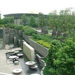鋳込み成形タイルの施工例 公園②