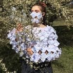 """Валерия Ленер, """"Papermagic"""", оригами, из старых статей математической школы"""