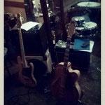 cafe plüsch - so fing alles an - gitarre, bass & snare - am offenem fenster im sommer