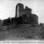 La tour boulevard, Château de Calmont d'Olt, Espalion, Aveyron