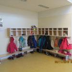 neue Garderoben im Bestand