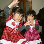 ♪せいらちゃん&さくらちゃん双子の姉妹