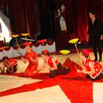 Camps cirque en juillet
