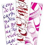 Création de marque-pages - © Serge Cortesi