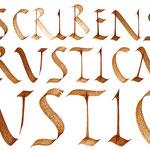 Titre pour un stage de calligraphie - © Serge Cortesi