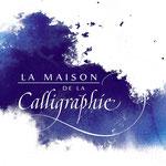 Logotype La Maison de la Calligraphie - © Serge Cortesi