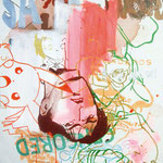 JUDAS ARRIETA Sale 73x54cm acrylic & marker on canvas 2010