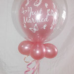 Bubble ballon rosegold