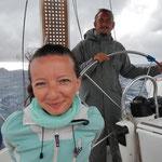 Volles Vertrauen in den Skipper