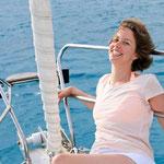 entspannt im hier und jetzt ! Auf dem Segeltörn im Mittelmeer als alleinreisende Frau