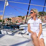ein Segeltörn im Mittelmeer zwischen Sardinien und Korsika