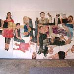"""Eva Hradil, """"21 Menschen"""", Zustandsfoto von 16 aus 21"""