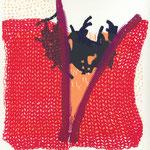 """Eva Hradil aus """"kleine Handarbeiten"""" 2003, Serigrafie,"""
