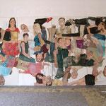 """Eva Hradil, """"21 Menschen"""", Zustandsfoto von 23 aus 21"""