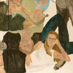 """Eva Hradil, """"21 Menschen"""" Zustandsfoto/Detailansicht 25 aus 21"""