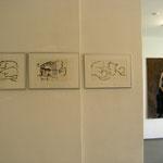 "Eva Hradil Ausstellungsansicht ""Das Maß aller Dinge"" Galeri Eboran, Salzburg"