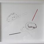 """Eva Hradil """"gezeichnete Brote"""", 2019, Serigrafie, Auflage 5 Exemplare, Blattgröße 50 x 60 cm"""