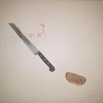 "Eva Hradil ""Vincent van Brotberuf Malerei"", 2019 Seriegrafie, Auflage 3 Exemplare, 3fbg."
